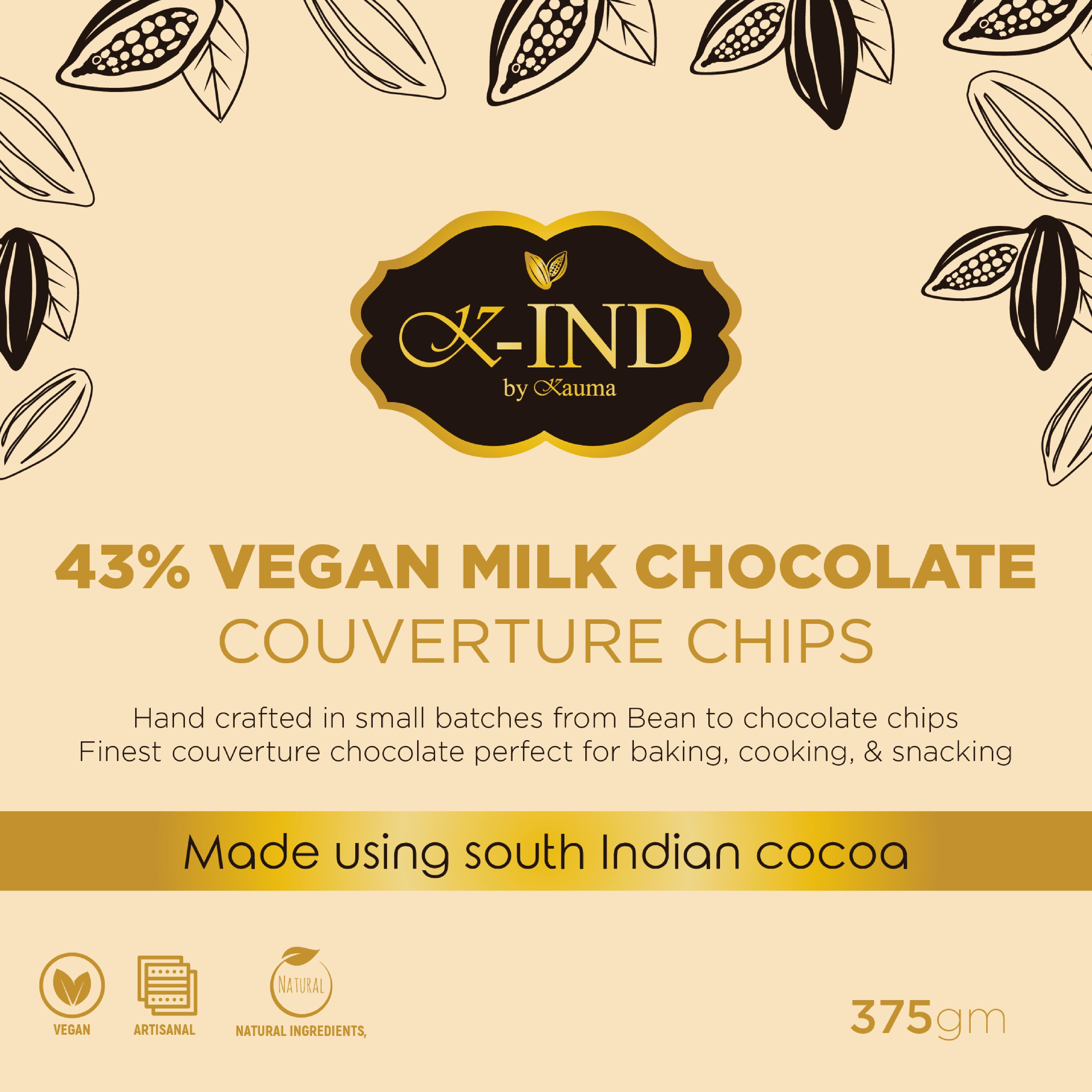 Kauma-43%-Vegan-Milk-Chocolate-(375gm)