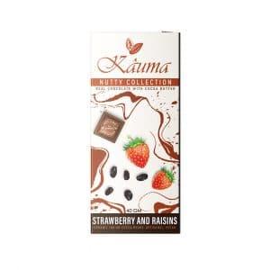 Kauma - Strawberry & Raisins - Nutty Collection - 40g